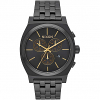 Nixon TIME TELLER CHRONO ALL BLACK/GOLD
