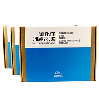 SOLEMATE SNEAKER BOX BLUE/WHITE