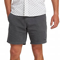 Volcom HAZED EW SHORT WASHED BLACK