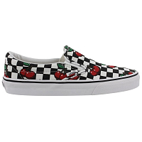 Vans Classic Slip-On (Cherry Checkers) black/true white