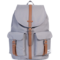 Herschel DAWSON GREY/TAN SYNTHETIC LEATHER