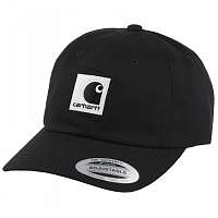 Carhartt LEWISTON CAP BLACK / WAX