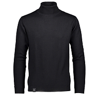 Makia ROLL NECK KNIT BLACK
