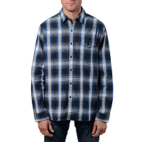 LEVI'S® SKATE REFORM SHIRT CALAMINT TRUE BLUE