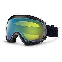 VonZipper FEENOM NLS Black Gloss/Yellow Chrome