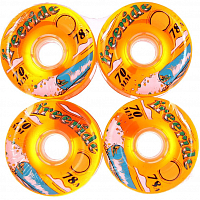 Sector9 FREERIDE 7 WHEELS ORANGE