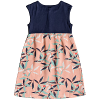 Roxy SUN AND WAVES K WVDR SALMON LEAVES