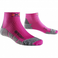 X-Socks RUN DISCOVERY LADY NEW Fuchsia/Grey Moulinè