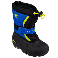 SOREL CHILDRENS FLURRY Black, Super Blue