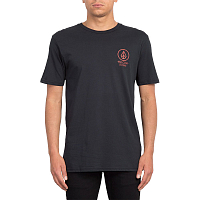 Volcom CROWD CONTROL SS TEE BLACK