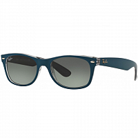 Ray Ban NEW WAYFARER TOP MT PETROLEUM ON GREY/CRYSTAL GREEN