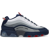 DC LEGACY OG M SHOE NAVY/RED