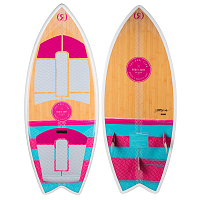 Ronix WOMEN'S KOAL W/ TECHNORA - FISH Bamboo / Pink / Mint