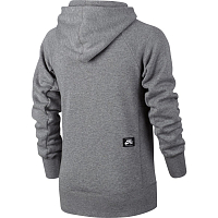 Nike B NK HOODIE PO ICON AOP CARBON HEATHER/BLACK