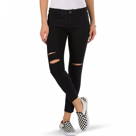Джинсы VANS WM DESTRUCTED SKINNY SS17 от Vans в интернет магазине www.traektoria.ru - 2 фото