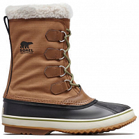 Sorel 1964 PAC NYLON Nutmeg, Black