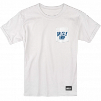 Grizzly ALL CITY POCKET S/S TEE White