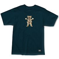 Grizzly TERRIAN OG BEAR S/S TEE NAVY