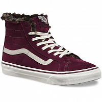 Vans SK8-HI SLIM (Fur Lining) fig/marshmallow