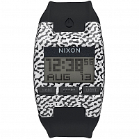 Nixon COMP S BLACK/WHITE AMOEBA