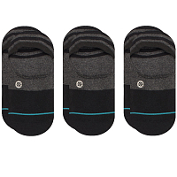 Stance UNCOMMON SOLIDS GAMUT 3 PACK BLACK