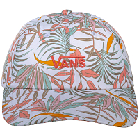 Vans COURT SIDE PRINTED HAT WHITE CALIFORNIA FLORAL