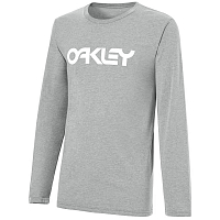 Oakley 100C-MARK II L/S TEE HEATHER GREY