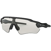 Oakley RADAR EV PATH STEEL/CLEAR BLACK IRIDIUM PHOTOCROMIC
