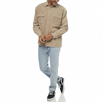 Rusty COOP CORDUROY LONG SLEEVE SHIRT LIGHT FENNEL