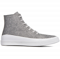CONVERSE ALL STAR QUANTUM HI ASH GREY/WHITE/VOLT