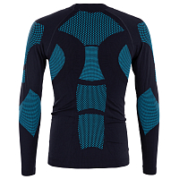 BodyDry KANGCHENJUNGA LONG SLEEVE SHIRT Black/Blue