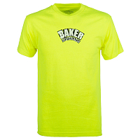 Baker ARCH SAFETY GREEN TEE GREEN