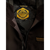 Airblaster TOASTER JACKET BLACK OXBLOOD