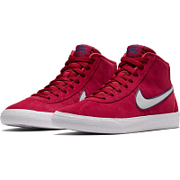 Nike SB BRUIN HI RED CRUSH/VAST GREY-WHITE