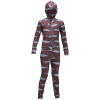 Airblaster YOUTH NINJA SUIT Burgundy Fish