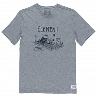 Element RIVER DREAMS SS GREY HEATHER