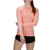 Hurley W ONE & ONLY RASHGUARD L/S PINK TINT