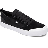 DC EVAN SMITH S M SHOE BLACK/BLACK/WHITE