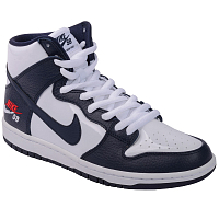 Nike SB ZOOM DUNK HIGH PRO OBSIDIAN/OBSIDIAN-WHITE-UNIVERSITY RED