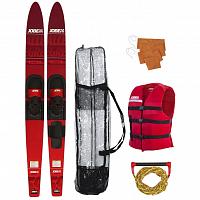 Jobe ALLEGRE COMBO SKIS PACKAGE RED