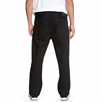 DC WORKER RELAXED  M PANT BLACK RINSE