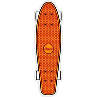 Penny STICKER FLOOR ORANGE