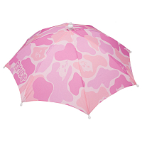 RIPNDIP REAL SHADEY UMBRELLA HAT PINK CAMO
