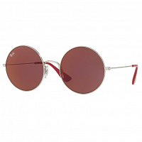 RAY BAN JA-JO SILVER/DARK VIOLET MIRROR RED