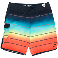 Billabong 73X STRIPE 19 ORANGE