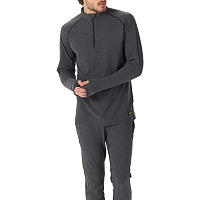Burton MB EXP 1/4 ZIP TRUE BLACK HEATHER