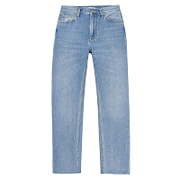 CARHARTT W' PAGE CARROT ANKLE PANT BLUE (LIGHT STONE WASHED)