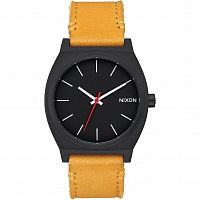Nixon Time Teller All Black/Goldenrod
