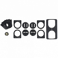 Voile SPLITBOARD HARDWARE PUCK SET-CANTED ASSORTED
