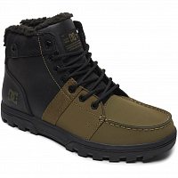 DC WOODLAND M BOOT BLACK/OLIVE